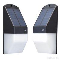야외 태양 램프 방수 pir 모션 센서 벽 빛 25 LED 태양 전원 라이트 에너지 절약 정원 보안 램프