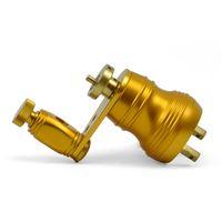 arma de tatuagem Rotary Motor Tattoo Machine Gun Abastecimento Set Liner Shader - Dark Gold