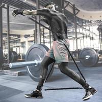 스포츠 휘트니스 저항 밴드 세트 튀는 강도 훈련 장비 반송 트레이너 저항 로프 권투 스트레칭 스트랩