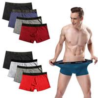 2019 New Hot vente de haute qualité Hommes Designer Boxer Classic Sport Respirant Slips Sous-vêtements cadeau Imcute