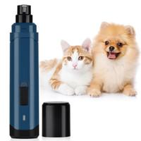 Nail Clipper électrique Pet ciseaux à ongles Grinder Dog Cat Claw Toilettage Trimmer Cutters Mill Pet Supplies Cutter Grinder