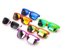 عاكس الاطفال النظارات الشمسية ماركة مصمم نظارات الشمس للأطفال بنين بنات أزياء earewares البيضاوي uv 400 earewares