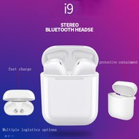 I9 wireless bluetooth headset real stereo TWS bluetooth head...