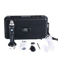 Alta Qualidade de vapor portátil Oil Rig Dab vaporizador Henail Além disso enail G9 Temperatura Concentrate Control Box Wax Oil Starter Kit Vape