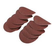 Discos de lijado de 2 pulgadas 40-2000 Grit Papel de lija pulido Papel de lijadora para herramientas de lijado