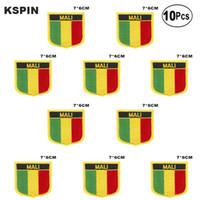 Mali Bandiera ricamo patch di ferro su Sega sul trasferimento patch Le domande di cucito per i vestiti in homegarden 10pz