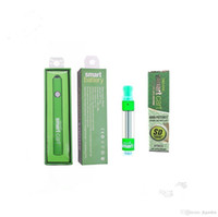 Smart Cart Batería 380mAh Precalentamiento VV Voltaje variable Vape Pen SmartCart Batería de color verde para 510 Cartucho de aceite grueso VS Batería máxima
