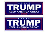 Novo 2020 EUA Eleição Presidencial Trump Bumper Adesivos de Carro Adesivos de Carro Com Lettering Donald Trump Presidente Adesivos 23 * 7.6 cm