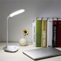 HaoXin USB 충전식 책상 테이블 램프 조절 강도 읽기 라이트 터치 스위치 데스크 램프 3 개 모드 데스크 램프를 LED