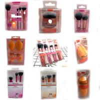2019 Venda por grosso Maquiagem Profissional Ferramenta de beleza ferramentas de alta qualidade cartonagem caixa Maquiagem Fundação escovas conjunto