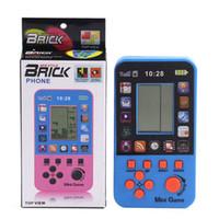 Console de jeux Tetris classique pour PSP Nostalgique jeu joueurs Retro portable Tetris de poche Gosses Jeu Mini Controller Jeu de brique