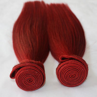"Best quality 100% Human Remy hair 12"" - 28"" red colo..."