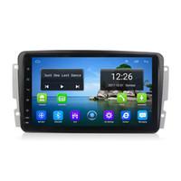 Android 4G LTE WiFi intégré WiFi Microphone GPS Navitel Radio AM FM, MP3 MP4 Musique pour Mercedes Benz CCLKG CLASS W203 W209 VITO VIANO 8INCH