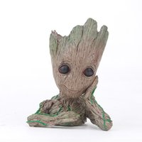 Guardians of the Galaxy Avengers Groot Flowerpot Action Figu...