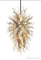 Mão italiana mão soprada lâmpadas murano lâmpadas personalizadas coloridas pingente de vidro artesanal para o hotel lobby decor