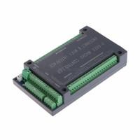 Envío gratuito NVUM 6 Eje CNC MACH3 Tarjeta de tarjeta de interfaz Ethernet 200 KHz para motor paso a paso