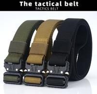 Di alta qualità da 2,5 cm a buon mercato Ampliamento US Army Tactical Tela Blet sport esterni di nylon Cintura con Nuovo inarcamento del rilascio rapido