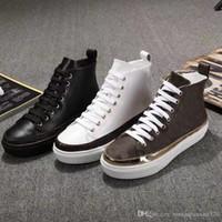 2018 Primavera e no Outono nova splicing sapatos de marca das mulheres, laço fundo grosso, tubo curto botas curtas, moda em couro bota das mulheres