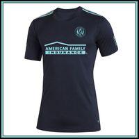2019 MLS Фарел Atlanta Соединенного Teal трикотажных изделий футбола футбол Джерси рубашка 19 20 Джерси MLS Фарел Atlanta United флота МАРТИНЕС Футбола рубашка