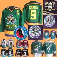 9 Paul Kariya Jersey Hall Of Fame Anaheim Ducks Nashville Predators Jerseys  Ice Hockey CCM Vintage All Stitched daa434daa