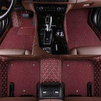 حصيرة أرضية السيارة لتسلا موديل S نموذج X صالح الفا روميو ستلفيو ستلفيو جوليا جميع السجاد التصميم اكسسوارات السيارات سيارة مخصصة