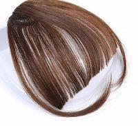 2019 grampo falsificado preto louro natural sintético de Brown em extensões longas do cabelo dos golpes com alta temperatura