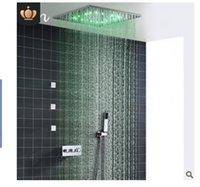 2020 потолок типа спрей из нержавеющей стали Главная температуры контролируемой душевая насадка Душевой шланг набор, ручной душ верхний спрей набор