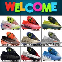 Mercurial Superfly VII Elite High Ankle Mens SG Spikes Footb...
