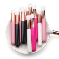 Cílios profissionais Escova de limpeza Nariz Blackhead Limpeza Escovas Limpeza Lavagem para Extensões Eyelash Ferramentas de Maquiagem 12 Cores