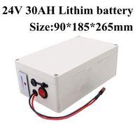 24V 20AH /을 30ah / 40AH / 50AH / 60AH 리튬 이온 배터리에 대한 750w 500w 장난감 자동차 태양 광 자전거 스쿠터 골프 트롤리 인버터 + 5A 충전기