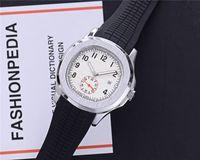 Sport Aquanaut 43 ملليمتر كوارتز رجالي ووتش المطاط حزام جودة عالية الساعات 17 ألوان فاخرة فاخرة الساعات