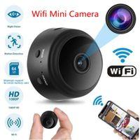 A9 Mini fotocamera WiFi Videocamera wireless Telecamera 1080P Full HD Piccola Nanny Cam Cam Night Vision Movimento attivato Covert Security Magnete Piccole telecamere
