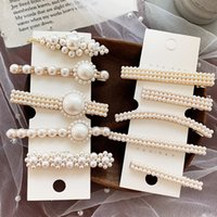 Pearl Hair Clips For Girls Metal Hair Accessories For Women ...