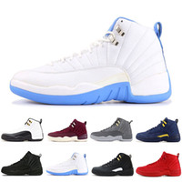Nike Air Jordan 12 AJ12 Retro Günstige 12 12s FIBA ​​CNY Bumblebee Herren-Basketball-Schuhe Reverse-Taxi Spiel Royal Blue Gym Red Wings Grau Männer sports Turnschuhe Trainer t41