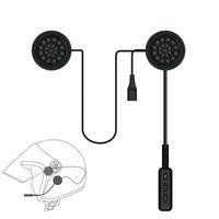 Motor Sem Fio fone de Ouvido Bluetooth Motocicleta Capacete Fone De Ouvido Fone De Ouvido Hands free Music Call Controle Mic Fone De Ouvido Para Smartphone