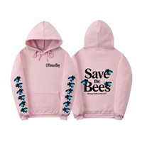 Bees Womens Designer Letter Hoodies Casual Hot Style Oversiz...
