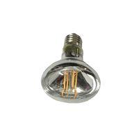 220V 240V Dim R80 LED Ampul Taşkın Işık Reflektör Ampul 4 Filamennt Gerçek 6W Beyaz 2700K 3000K Isınma