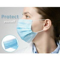 Protective Masks, disposable Masks, 50pcs , 3 layers with el...