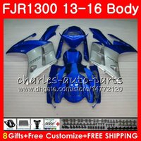 Karosserie für YAMAHA FJR1300A FJR 1300 2013 2014 2015 2016 121HM.36 FJR1300 A FJR-1300 Lager blau! HOT FJR-1300A FJR1300 13 14 15 16 Verkleidungsset