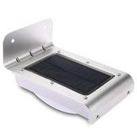 16 Diody LED Solar Motion Light Energy Saving Sorfrared Czujnik Wall Lampa zewnętrzna Bezprzewodowa Słoneczna Zasilana PIR Czujnik Ruchu Lampy ogrodowe