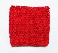 горячая девочка 9 дюймов крючком пачка трубки топы груди Wrap широкий крючком топы для DIY пачка платье поставщик 20 шт.