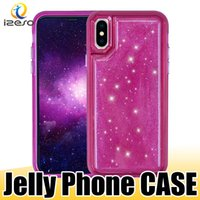 Jelly Phone Case für iPhone Xs Max Xr X 8 7 6 Plus Hybrid Descompression Design Handytaschen Druckreduzierung Back Cover Shell