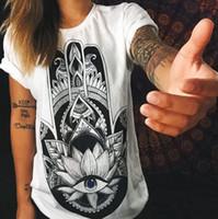 2019 summer new men and women T-shirt loose fashion tattoo print shirts  casual tees unisex tops 5f2216cd6ae5