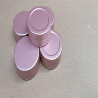20g rosa Scatola di barattolo in alluminio rosa 20ml Barattolo di alluminio Lip Gloss Contenitore Tè TA TIN Cosmetici Bottiglia di imballaggio