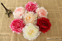 Artificial Flowers Silk Peony Flower Heads Party Wedding Decoration Supplies Simulation Fake Flower Head Home Decorations 12 cm