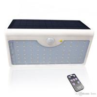 Солнечный свет 1300lm 60 LED Забор Yard 5 режимов с контроллером IP65 Водонепроницаемый солнечной энергии лампы для наружного стены сада