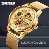 SKMEI 9199 Fashion Women Brand Men Luxury Automatic Mechanic...