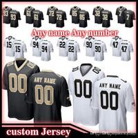 eb7314d59c7 New Arrival. 7 Taysom Hill custom Game New Orleans Saints jersey 9 Drew ...