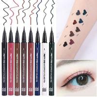 New Eyeliner Brow Waterproof Liquid Pen Crayon Sourcils Maquillage cosmétique outil
