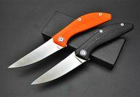 высокое качество Shirogorov bearhead D2 атласную G10 ручка 58-60HRC складной карманный нож выживания кемпинга Тактические боевой нож 1pcs a1640